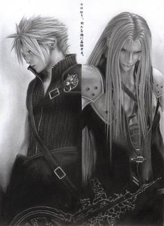 Final Fantasy Cloud Sephiroth by D17rulez.deviantart.com on @deviantART