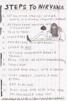 Kurt Cobain's journal