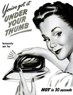 You've got it under your thumb with Sunbeam, 1946