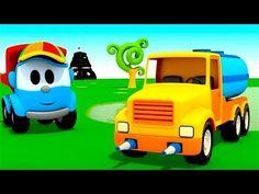 36 Fantastiche Immagini Su Leo Il Camion Curioso Cartoni Animati