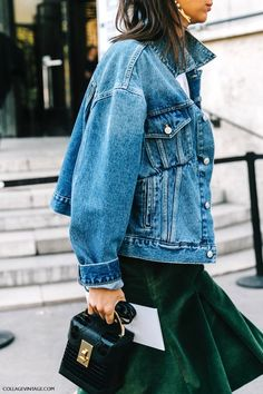 How To Turn A Corduroy Skirt Into A Street Style-Worthy Outfit