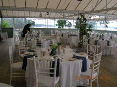 Harborview at Jones Landing Peaks Island, Casco Bay, Harbor View, Landing, Maine, Wedding Ideas, Weddings, Table Decorations, Home Decor