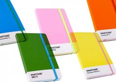 I want all of the Pantone Moleskine notebooks but they're stupidly overpriced for what is essentially paper with a nicely coloured cover. I could probably make this shit but will I... no