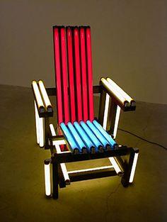 Rietveld Chair by Ivan Navarro