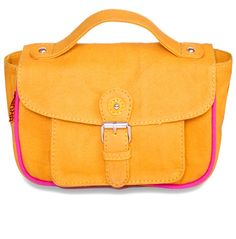c7e30c415ec Trending cross-bodied satchels with piping best for daywear I found on  Roposo.com.