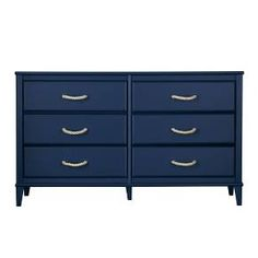The beautiful blue hue of this dresser gives this classically-styled piece an updated look. Each drawer is fitted with metal slides and built-in stops designed for trouble-free use and easy-to-use wall anchors are included for household safety. Two sets of drawer knobs are included so you can customize the look of your dresser. Like all Little Seeds products, this purchase helps support a major environmental initiative. Discover how this can help you and your child involve your community in…