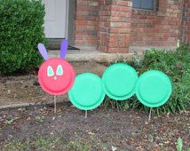 The Very Hungry Caterpillar Outside Sign