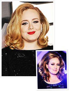Adele - Grammys 2012 - blonde hair!