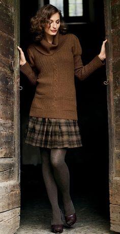 """pleatedminiskirts: """"She looks like a posh lady. """""""
