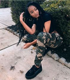 Dope Outfits, Swag Outfits, Girl Outfits, Casual Outfits, Fashion Outfits, Fashion Clothes, Fashion Tips, Black Girls Hairstyles, African Hairstyles