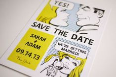 Funny Save The Date Ideas: Comic, Movie, Creative, & Crafty Themes