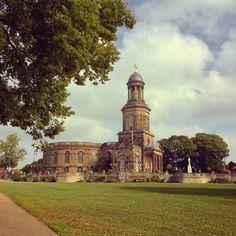 St. Chads Shrewsbury Shropshire Shrewsbury Shropshire, Notre Dame, Past, Holidays, Mansions, House Styles, Building, Travel, Home Decor