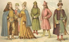 Landsknecht: The 'Garishly' Effective Footsoldier Of Century Medieval Fashion, Medieval Clothing, Historical Clothing, Moda Medieval, Medieval World, Medieval Gothic, Aladdin, Los Tudor, Middle Age Fashion