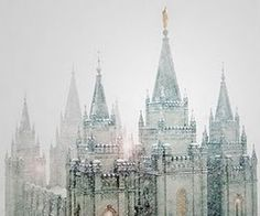 snow and the temple....love