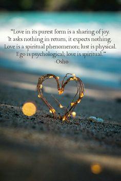 Love is.... #osho