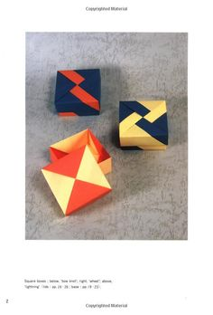 Origami Boxes: Tomoko Fuse: