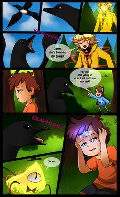 Gravity Falls Comic : Golden Surprise 22 by Jack-a-Lynn on DeviantArt