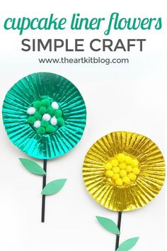 Cupcake Liner Flower Craft for Kids Cupcake liner flowers are one of our favorite crafts to make with the children because they require only basic supplies, are easy to put together, and no matter how many times we make them, the children always seem to make them differently than before. Read on to see how [...]