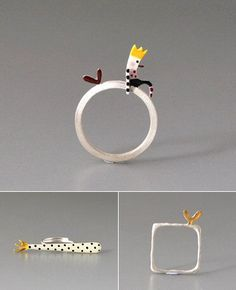 TheCarrotbox.com modern jewellery blog : obsessed with rings // feed your fingers!: Kiss the Frog / Ailin Rølvåg