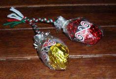 Maori Poi Easter Eggs
