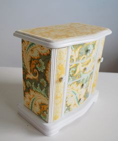Vintage Inspired Refurbished Jewelry Box