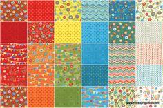Bloomin' Fresh Layer Cake - Deb Strain - Moda Fabrics