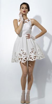 ℘ Paper Dress Prettiness ℘ art dress made of paper by Juvena Worsfold