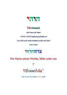 Bis die Tage und Jahre erfüllt sind... by Keiyah ben Yâ-hwuah via slideshare
