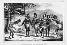 Dança de selvagens da missão de São José