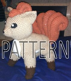 Vulpix Pokemon Crochet Pattern