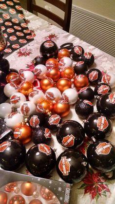 Harley Davidson Ornaments