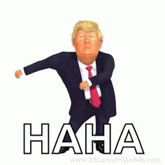 Donald Trump Floss Dance GIF DonaldTrump FlossDance Dance Discover & Share G Rice&Caricature Dance Gif, Dancing Animated Gif, Cartoon Jokes, Funny Cartoons, Funny Jokes, Funny Emoji Faces, Funny Emoticons, Desenhos Hanna Barbera, Donald Trump Caricature