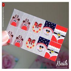 """1,107 curtidas, 62 comentários - VALDOMIRA DUARTE 🐼 (@nailsartesanais) no Instagram: """"• Inspiração para o Natal ❄ ❅ ❆ """"Não tenha medo de curtir, seja genorosa(o) no like."""" 😂😘…"""" Manicure And Pedicure, Christmas Nails, Projects To Try, Nail Art, Photo And Video, Manicures, Instagram, Videos, Cool Easy Nail Designs"""