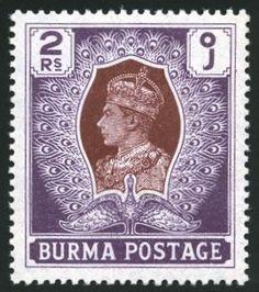 King George VI Burma 1938