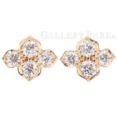 カルティエ ピアス ヒンドゥ ダイヤモンド K18PGピンクゴールド Cartier ジュエリー イヤリング ダイアモンド