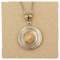 Oxidized Gold Collection Necklace