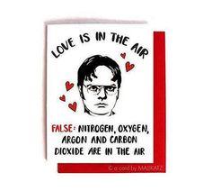 dwight-schrute-love-is-anti-valentine-nerdy-the-office-valentinstag-lustiges-vale . dwight-schrute-love-is-anti-valentine-nerdy-the-office-valentinstag-lustiges-vale …, Valentines Day Sayings, Valentines Day Cookies, My Funny Valentine, The Office Valentines, Funny Valentines Cards, Valentines Day For Him, Valentines Gifts For Boyfriend, Boyfriend Crafts, Ideas