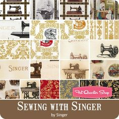 Sewing with Singer Yardage Singer for Robert Kaufman Fabrics | Fat Quarter Shop