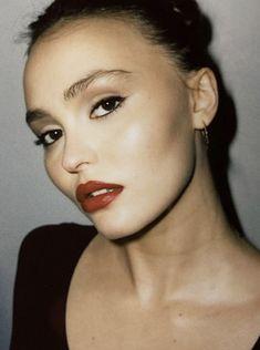 Makeup 101, Glowy Makeup, Fall Makeup, Makeup Inspo, Makeup Inspiration, Cool Makeup Looks, Pretty Makeup, Lily Rose Melody Depp, Celebrity Skin