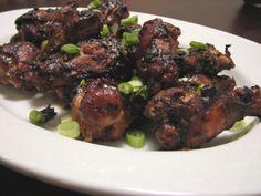 Rocket-Hot Asian Style Chicken Wings Recipe