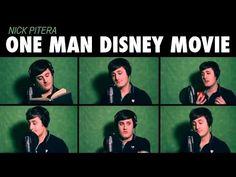 'One Man Disney Movie' -- A 'Brady Bunch'-Style Medley - The Moviefone Blog