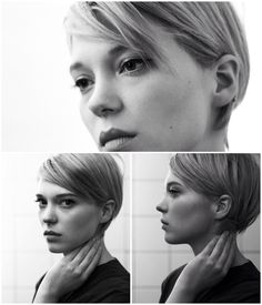 17 Trendy & Gorgeous Short Hairstyles for Women with Fine Hair 17 Trendy & Gorgeous Short Hairstyles for Women with Fine Hair,Haare Short hair. Léa Seydoux by Eric Guillemain. Haircuts For Fine Hair, Best Short Haircuts, Pixie Hairstyles, Short Hairstyles For Women, Hairstyles 2016, Medium Hairstyles, Hairstyle Short, Easy Hairstyles, Pixie Haircuts