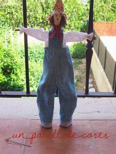Patchwork, Un parel de coses, Tila, scarecrow