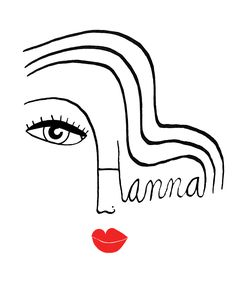 Hanna Barczyk... fab illustrator and oh so appropriate logo