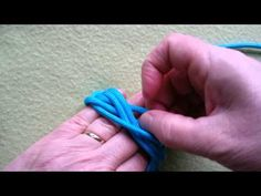 How to tie a 7L 13B Spanish Ring (3-pass) knot ie Gaucho knot - video by Mabel Marble