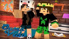 Minecraft: OUTRA VIDA #03 - UM RETRATO COM MINHA MÃE!