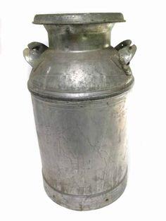 shopgoodwill.com: Vintage Welded Steel Milk Can