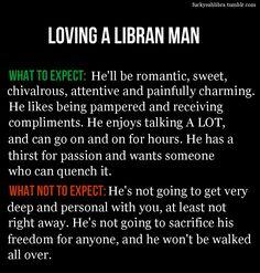Dating a libra man