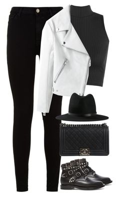 """Untitled #491"" by flowercalder ❤ liked on Polyvore featuring 7 For All Mankind, WearAll, Chanel, rag & bone and Yves Saint Laurent"