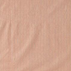 Woven cotton dusty rose stripe w lurex